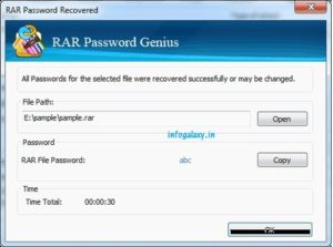 How To Crack Password Of Winrar Files-infogalaxy.in
