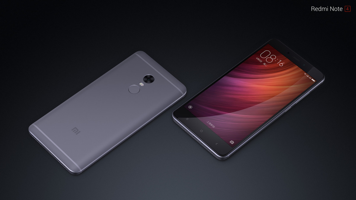 Xiaomi Launched Redmi Note 4