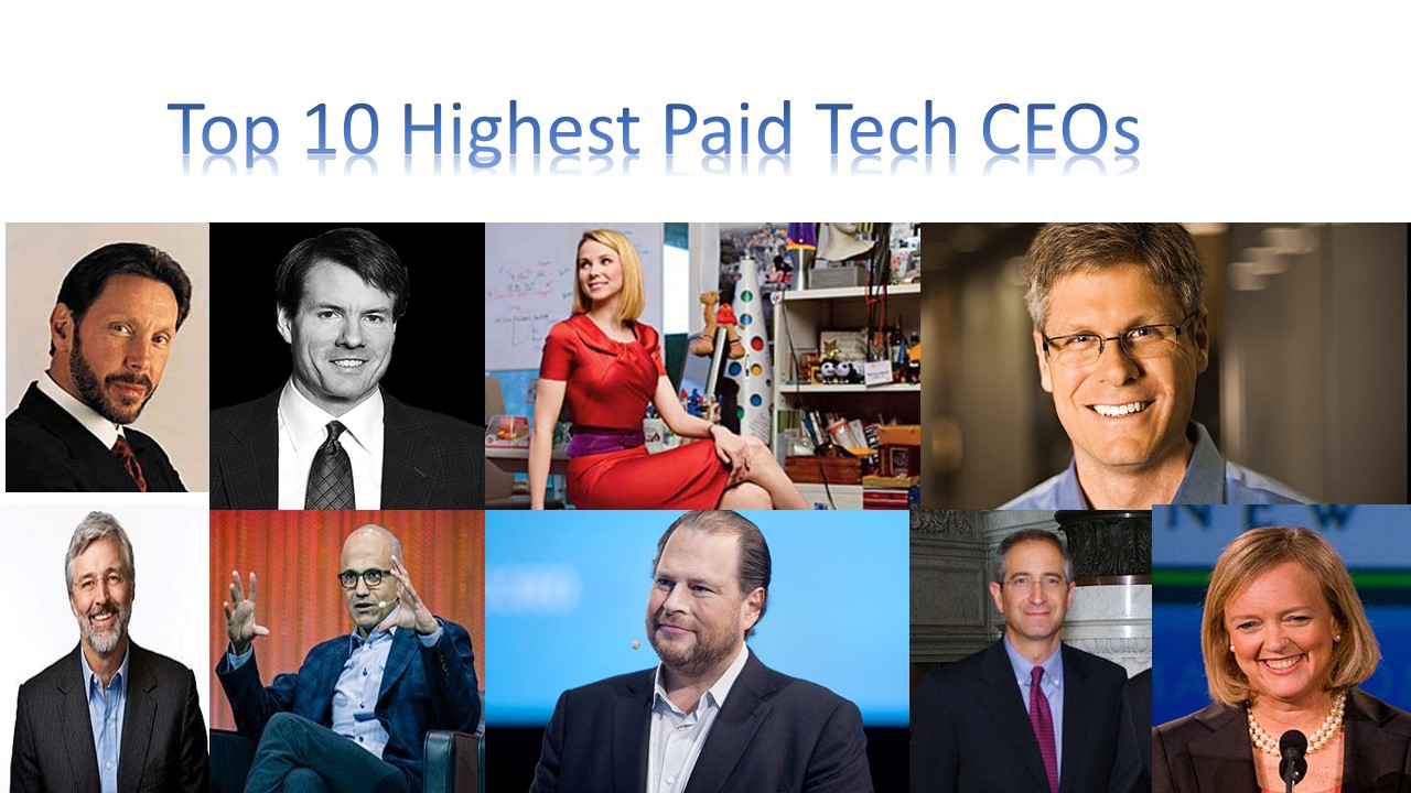 Top 10 Highest Paid Tech CEOs