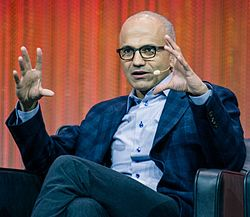 satya-nadella-Top 10 Highest Paid Tech CEOs