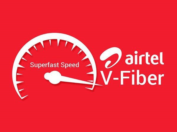 Airtel Launches V-Fiber In Mumbai With 100mbps Speed At 899INR