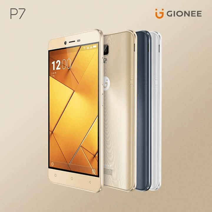 Gionee Has Launched Gionee P7 In India With 2GB Of RAM And 2300mAh Battery