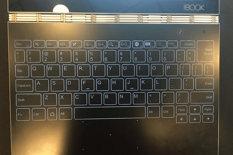Lenovo Launched Lenovo Yoga Book With on-demand Digital Halo Keyboard
