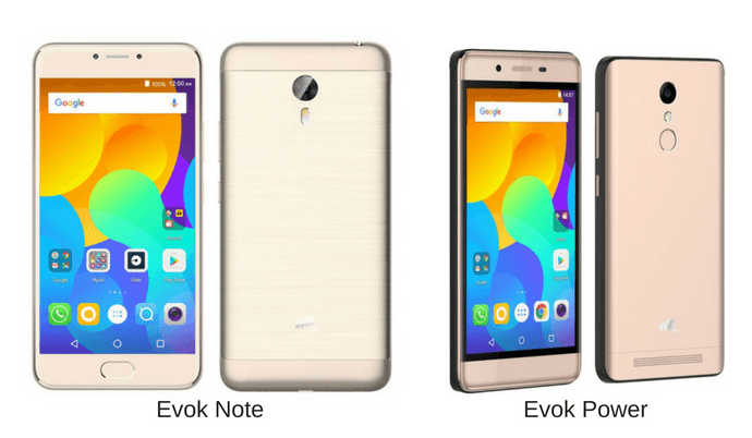 Micromax Launched Micromax Evok Power And Evok Note