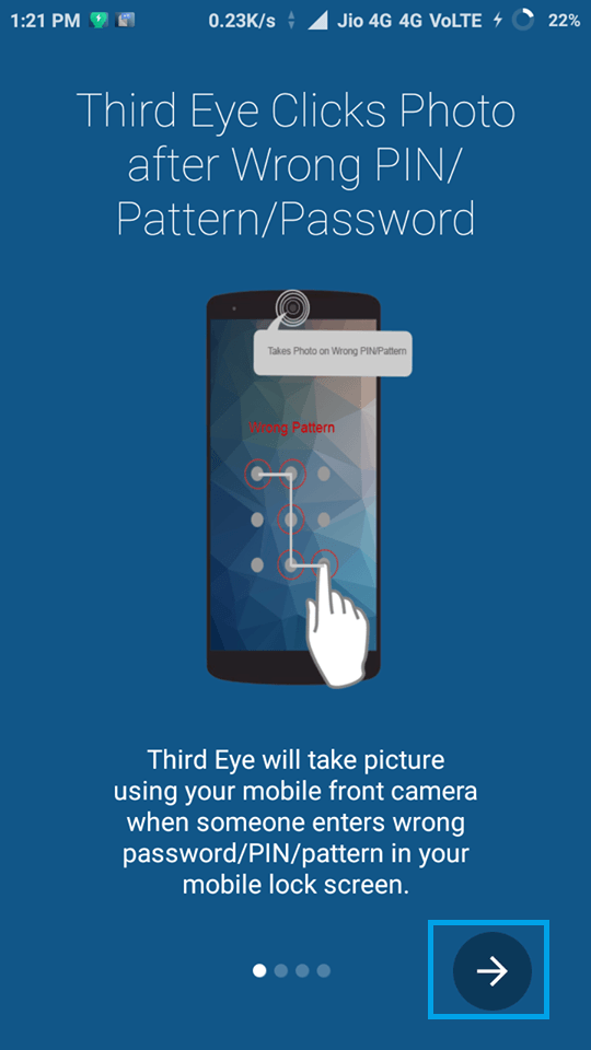 How To Capture Photo Of Someone Who Is Trying To Unlock Your Device